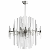 Helena Nickel Chandelier | Medium