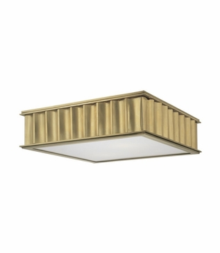 Hemsworth Flush Mount | Brass