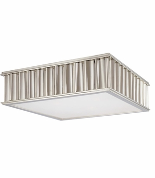 Hemsworth Flush Mount | Polished Nickel