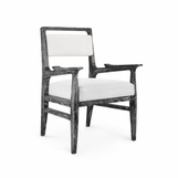 Hendrix Dining Arm Chair | Ebony