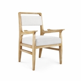 Hendrix Dining Arm Chair | Natural