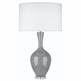 Hepburn Table Lamp | Light Grey