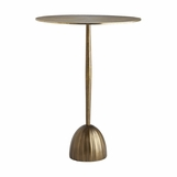 Herndon Brass Side Table