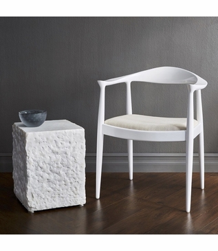 Herning Accent Chair | White