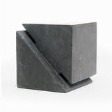 Hiro Geometric Object | Black Marble