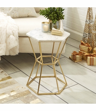 Holden Hex Side Table