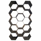 Honeycomb Steel Bookcase