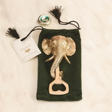 Horton Brass Elephant Bottle Opener