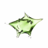 Hoshi Art Glass Sculpture | Green