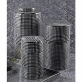 Houndstooth Jars Set