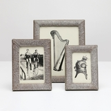 Houston 4x6 Hide Frame | Grey Brindle
