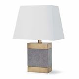 "Howell ""Shagreen"" Table Lamp"