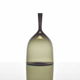 Hues Glass Bell Vase | Grey