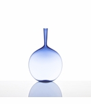 Hues Glass Flask Vase | Sky