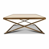 Hunter Coffee Table, Flush Top