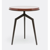 Hypol Side Tables | Bronze & Red