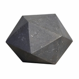 Icosahedron Small Marble Object