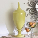 Imperial Ceramic Jar | Yellow-Green