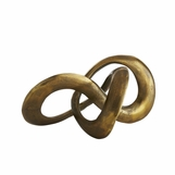 Infinito Brass Sculpture