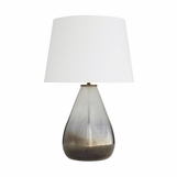 Ingrid Seeded Glass Lamp