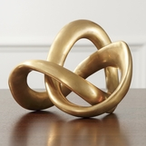 Interlink Brass Sculpture