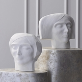 Introspect Visage Sculptures