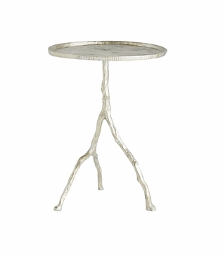 Iron Branch Table | Silver
