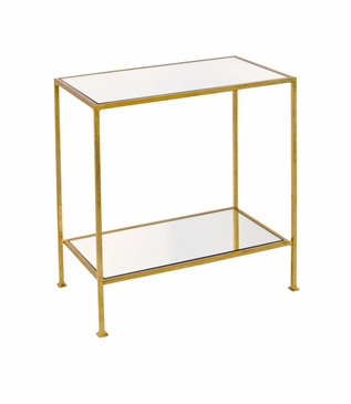 Irving Side Table | Gold