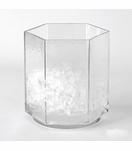 Ivanka Glass Ice Bucket