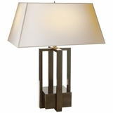Iverson Table Lamp | Grey