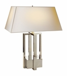 Iverson Table Lamp | Polished Nickel