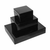 Jax Lacquered Boxes | Black