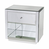 Jacklyn Mirrored Side Table