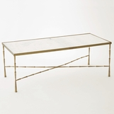 Jahari Marble Coffee Table | Brass