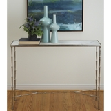 Jahari Marble Console Table | Nickel