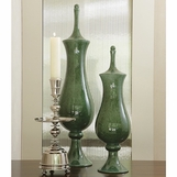 Jai Green Ceramic Jars