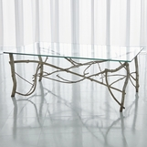 Jardine Coffee Table | Silver Leaf