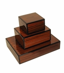 Jax Lacquered Boxes | Rosewood
