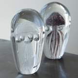 Jellies Glass Objects | Purple & Clear