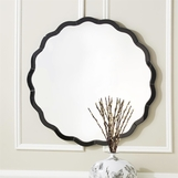 Jillian Wall Mirror | Black