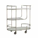 Jody Metal Bar Cart | Grey
