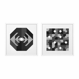 Kagan Geometric Prints | Set of 2
