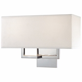 Kalan Double Sconce | Polished Chrome