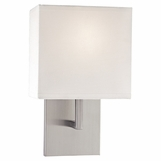 Kalan Single Sconce | Brushed Nickel