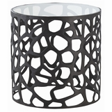 Kam Iron Side Table