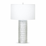 Kapsis Etched Glass Table Lamp