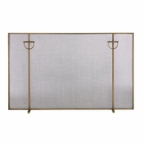 Kapur Fireplace Screen | Brass