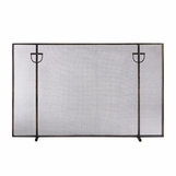 Kapur Fireplace Screen | Bronze