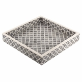 Kasbah Bone Tray | Grey