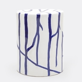 Kasoy Ceramic Stool | Blue